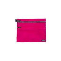 【箱買い商品 / 一箱200セット】セキセイ メッシュケースA5ピンク CP-3356-21 (納期優先の為単品詰合せの場合が御座います)