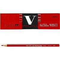 【箱買い商品 / 一箱240セット】トンボ 赤鉛筆 8900-V (納期優先の為単品詰合せの場合が御座います)