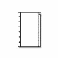 【単価240円・600セット】レイメイ藤井 ダヴィンチ リフィル ファスナーポケット ポケットサイズ DPR215