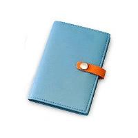 【箱買い商品 / 一箱90セット】レイメイ カードホルダー ブルー CH119A (納期優先の為単品詰合せの場合が御座います)