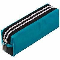 【箱買い商品 / 一箱90セット】レイメイ ペンケース ブルー FY279A (納期優先の為単品詰合せの場合が御座います)