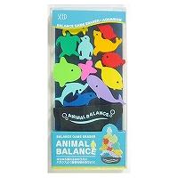 【単価453円・40セット】シード 消しゴム アニマルバランス 水族館 YR-700S(40セット)