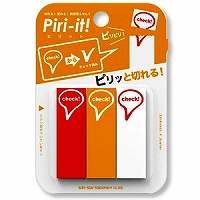 【単価345円・400セット】サンスター/PIRI-IT 2 チェック2803062/
