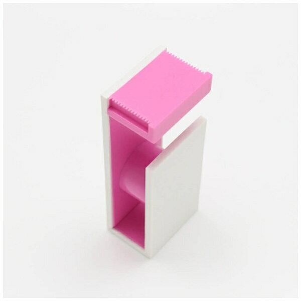 【単価622円・30セット】カモ井加工紙 mt tape cutter 2tone ホワイト×ピンク MTTC0021(30セット)