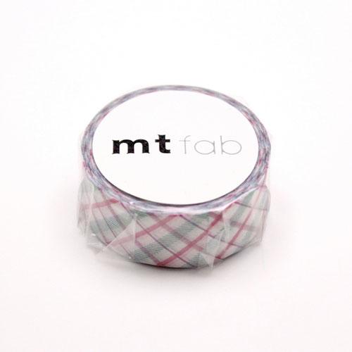 【送料無料・単価107円・470セット】fabチェック・パープル MTPL1P01(470セット)