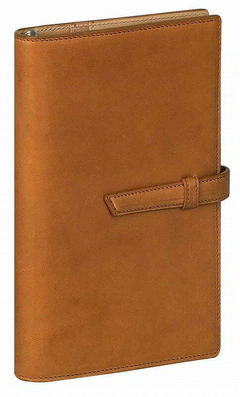 聖書サイズ システム手帳(リング径15mm) ダ・ヴィンチ グランデ アースレザー ブラウン DB1272 C 4902562418544