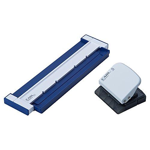 カール事務器 パンチ ゲージパンチ ブルー GP-20-B(10セット)