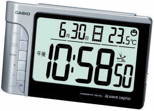 CASIO (カシオ) 目覚し時計 WAVE CEPTOR ウェーブセプター デジタル 電波時計 温度表示 DQD-240J-8JF(5セット)
