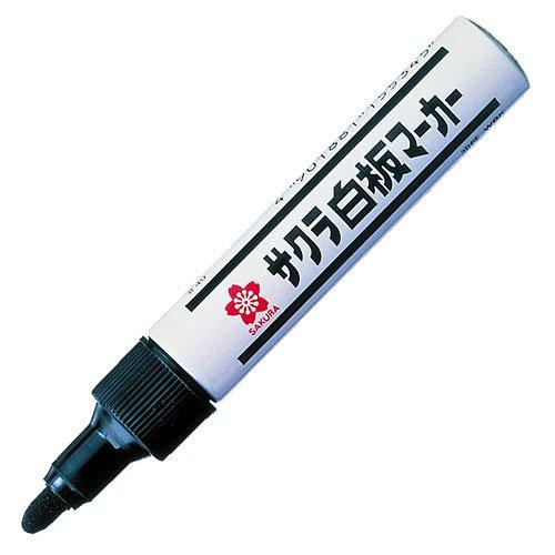 ホワイトボードマーカー WBK#49 中字 黒 4901881155345 サクラ白板マーカー 受注生産品 サクラクレパス 日本メーカー新品