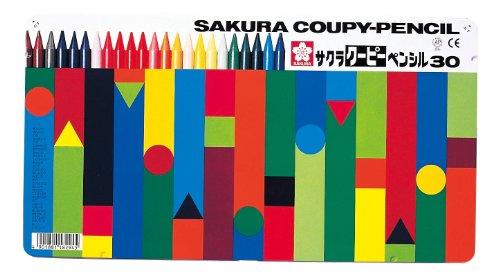 サクラクレパス クーピーペンシル 30色 FY30(10セット)