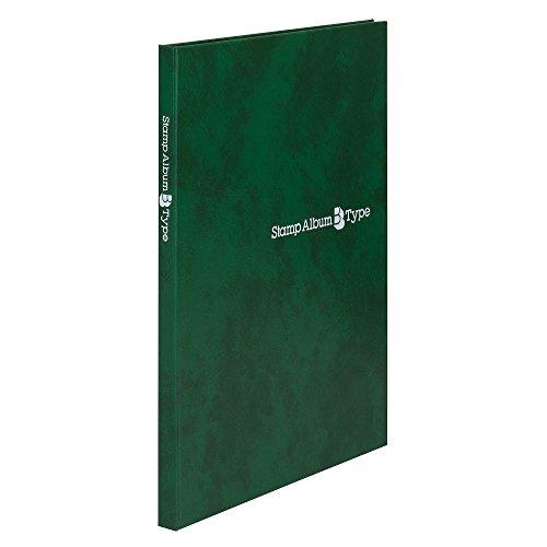 テージー スタンプアルバム Bタイプ B5 台紙8枚 SB-30N-03 緑(10セット)