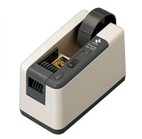 ニチバン 電動テープカッター オートテーパー 1.1kg TCE-100 アイボリー