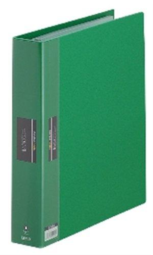 キングジム クリアーファイル A4S ヒクタス バインダータイプ 7139-3 緑(10セット)