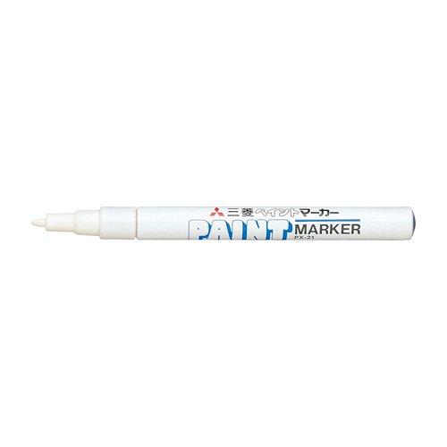 MITSUBISHI PENCIL uni paint marker small characters round wick white nothing PX21.1 PX21.1 40%OFFの激安セール uni 流行 白 送料無料 ペイントマーカー 360セット 三菱鉛筆 単価140円 UNI 細字丸芯 ミツビシ 1本