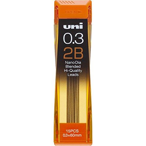 【単価143円・110セット】ミツビシ 三菱鉛筆 UNI 替芯 ユニ0.3-202ND 2B(110セット)