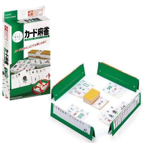 Hanayama game portable 専門店 メーカー公式ショップ card mahjong ハナヤマ ポータブルカード麻雀 057684 4977513057684