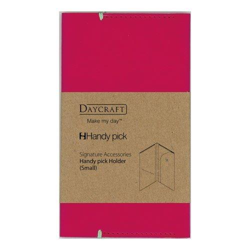 ダイゴー 差込手帳カバー Sigature Handypick L マゼンタ C9029(10セット)