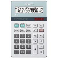 シャープエレクトロニクスマーケティング 環境配慮電卓 ナイスサイズ EL-N412K(10セット)
