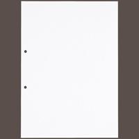 今村紙工 板目表紙穴開きタイプ イタ-A4 A4 40枚(10セット)