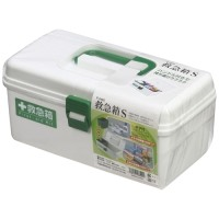 Immovable Giken first-aid kit S white F-2485