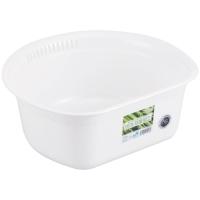 リス 洗い桶 丸 パールホワイト(10セット)
