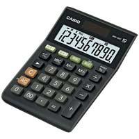 カシオ計算機 W税率ミニジャスト電卓 MW-100T-BK-N(10セット)