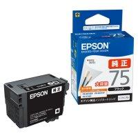 エプソン インクカートリッジ ICBK75 ブラック(5セット)