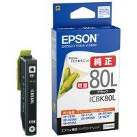 エプソン インクカートリッジ ICBK80L ブラック(10セット)