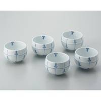 日光陶器店 ツボ型煎茶碗 めばえ 5客セット(10セット)