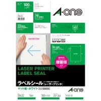 A-one laser label 28432 税込 B4 1 100 1面 pieces 上品 レーザーラベル 4906186284325 100枚 エーワン