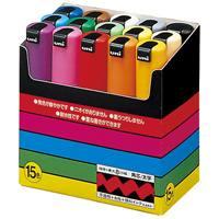 三菱鉛筆 ポスカ PC8K15C 太字 15色セット(10セット)