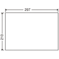 東洋印刷 ナナ コピー用ラベル C1Z A4/全面 500枚 東洋印刷 ナナ コピー用ラベル C1Z A4/全面 500枚(10セット)