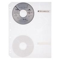 プラス CD/DVD追加用替ポケット RE-141CD 5枚(10セット)