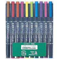 ゼブラ 蛍光オプテックスケアWKCR1-10C 10色セット(10セット)