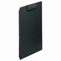LIHITLAB クリップファイル F-2650-24 A4E 黒(10セット)