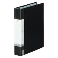 LIHITLAB クリヤーブック リクエスト G3803-24 A4S黒(10セット)