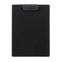 LIHITLAB クリップボード 捺印対応 A-2980-24 A4E 黒(10セット)