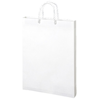 うずまき 額縁手提袋 ベ586 白 B4 10枚(10セット)
