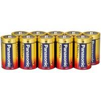 Panasonic アルカリ乾電池 単1 LR20XJN/10S 10本(10セット)