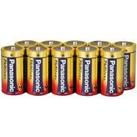 Panasonic アルカリ乾電池 単2 LR14XJN/10S 10本(10セット)