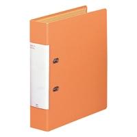 LIHITLAB D型リングファイル G2250-4 A4S 橙(10セット)