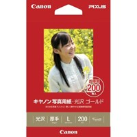 キヤノン 写真紙 光沢ゴールド GL-101L200 L 200枚(10セット)