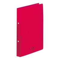 LIHITLAB ツイストリングファイルA4S F-5005-3 200セット 赤 オンラインショップ 付与