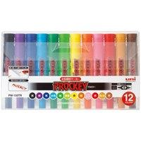 三菱鉛筆 プロッキーPM150TR12CN 12色(10セット)