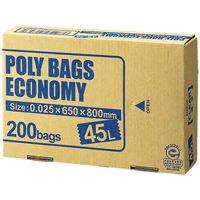 オルディ ポリバックエコノミー45L透明 PBE-N45-200(10セット)