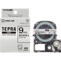 キングジム テプラPROテープ備品管理ラベル SM9XC(10セット)