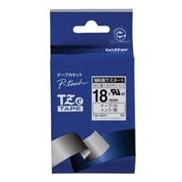 ブラザー 強粘着テープTZe-S241白に黒文字 18mm(10セット)