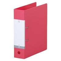 ☆送料無料☆ 当日発送可能 LIHITLAB D型リングファイル A4S 120セット ご予約品 G2280-3 赤