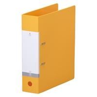 即出荷 LIHITLAB D型リングファイル A4S 120セット 黄 G2280-5 毎日激安特売で 営業中です