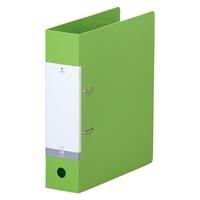 LIHITLAB D型リングファイル A4S ブランド激安セール会場 黄緑 G2280-6 買取 120セット